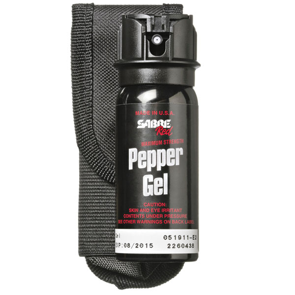 Pepper Gel with Holster