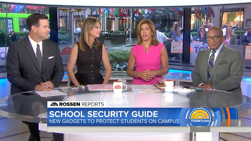 See the Dorm and Apartment Safety Kit in Action on the Today Show