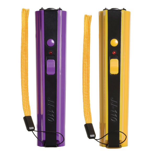 Purple Stun Gun and Yellow Stun Gun - Concealable Model